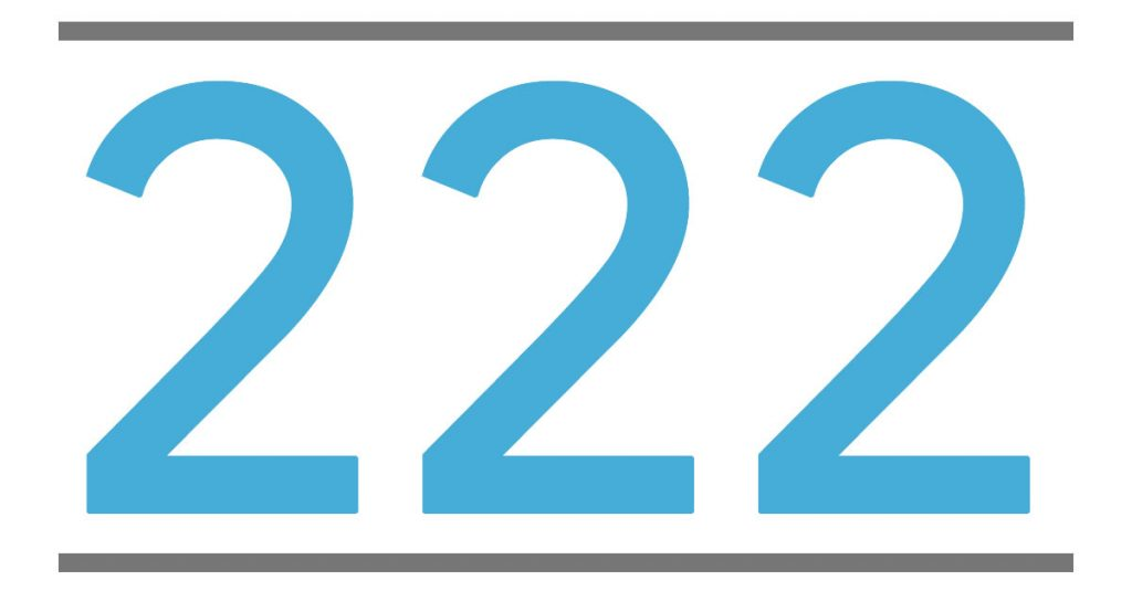 222 meaning - meaning of angel number 222