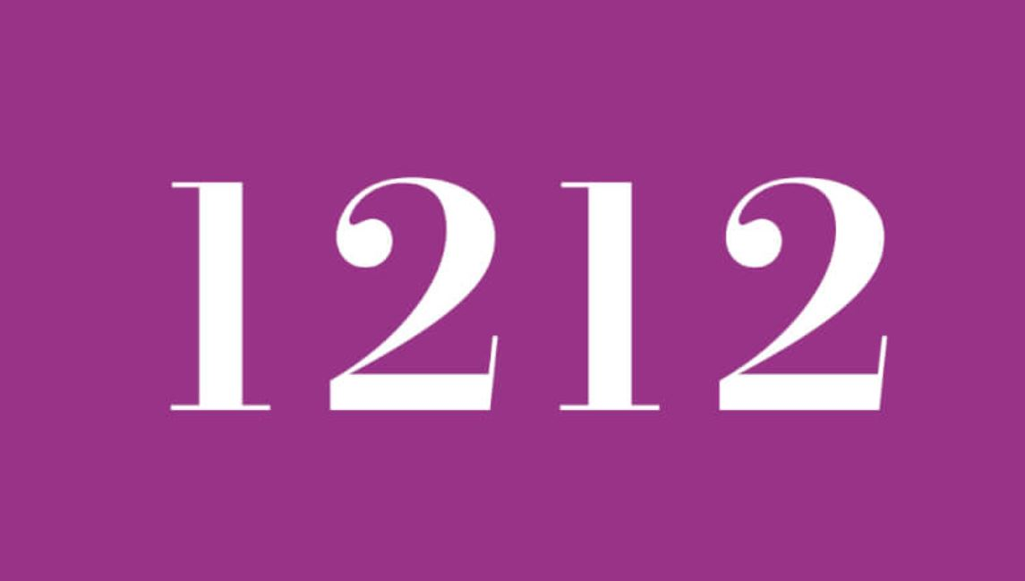 what does angel number 1212 mean?